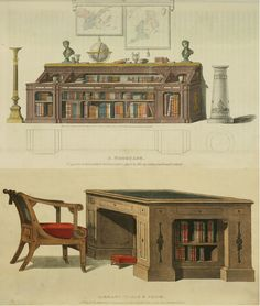 Attractive Regency Furniture For The Book Lover : Http://www.bookpatrol.net