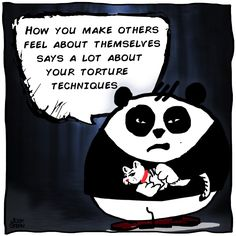 joshingstern ‏@joshingstern   How you make others feel about themselves says a lot about your torture techniques    #joshings