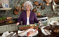 Paula's Feast of Fish Recipes on PaulaDeen.com