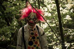 Creepy clown #woods Creepy Clown, Natural Light Photographer, Samurai, Woods, Nature, Photography, Fictional Characters, Art, Art Background