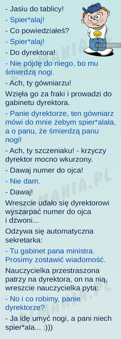 Niewychowany Jasiu Scary Funny, Wtf Funny, Funny Memes, Jokes, Polish Memes, Weekend Humor, Text Memes, Meme Template, Funny Thoughts