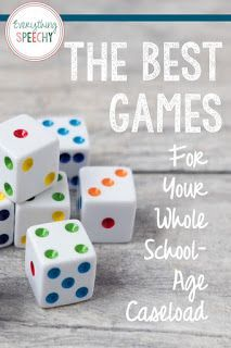 The Best Games for Your Whole School-Age Caseload - Everything Speechy