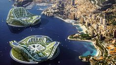 Floating suburbs as alternative to destroying greenbelt
