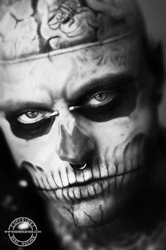 One of my most favorite pics of Rick Genest aka: Zombie Boy