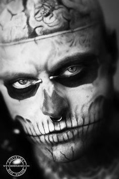 One of my most favorite pics of Rick Genest aka: Zombie Boy