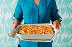 25 Casual Chicken Casseroles: Chicken-Spaghetti Casserole