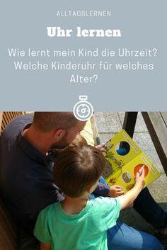 Wie lernt mein Kind eine Uhr lesen? Die Uhrzeit von einer Kinderuhr lernen in der Vorschule oder Grundschule. Analoge und Smarte Kinderuhr