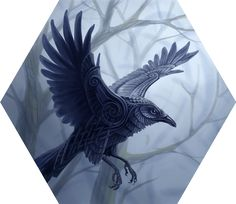 Huginn and Muninn by benu-h