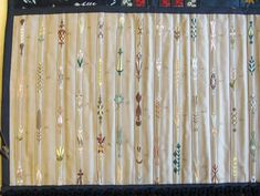 Leicestershire County Council: The Symington Collection, flossing sampler. Larger images at site. Bullet Jewelry, Geek Jewelry, Gothic Jewelry, Historical Costume, Historical Clothing, Historical Dress, Sewing Bras, Hand Sewing, Vintage Corset