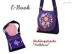 E-Book Folklore Umhängetasche - allerlieblichst!