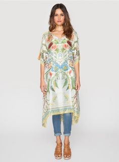 Lots of new Johnny Was Clothing​ pieces came in today! Love the botanical print of this Exotic Floral Poncho!