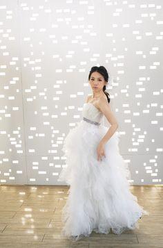 Wedding Accessories   Peony organza bridal flower   FleuriFleuri Co., Ltd.   Fabric Flowers