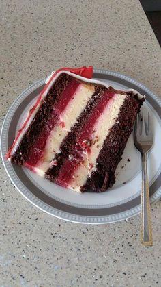 Sweet Recipes, Cake Recipes, Dessert Recipes, Desserts, Torta Recipe, Torte Recepti, Raspberry Recipes, Torte Cake, Sweet Cakes