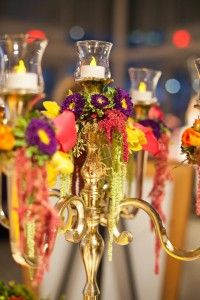 boho chic-sweet dreams weddings and events.      Candelabra Decor  = Perfect for a Ceremony