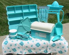 aqua kitchen utensils - Google Search