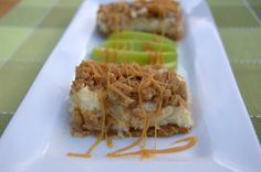 365 Days of Baking and More: Day 348 - Caramel Apple Cheesecake Bars for the Secret Recipe Club