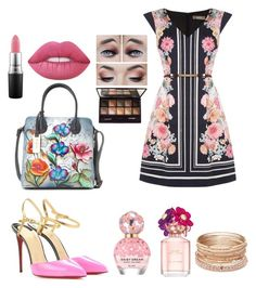 Untitled #339 by maggiefrank on Polyvore featuring polyvore, fashion, style, Oasis, Christian Louboutin, Anuschka, Red Camel, Lime Crime, By Terry, MAC Cosmetics, Marc Jacobs and clothing