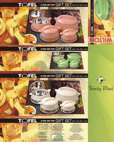 #TrinityPlast #Tofel #4Pcs #Hotpots #casserole #suppliers #manufactures #exporters #Western #Sahara #Egypt #Iran #Turkey