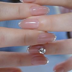 Best christmas nail tutorials page 48 Chic Nails, Stylish Nails, Asian Nails, Elegant Nail Designs, Wedding Nails Design, Minimalist Nails, Pretty Nail Art, Best Acrylic Nails, Dream Nails