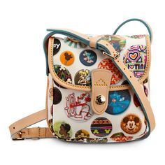 Mickey Mouse Buttons Crossbody Bag by Dooney & Bourke