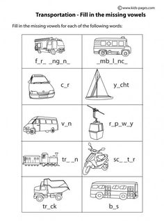 transportation unscramble b w worksheets clipart pinterest search worksheets and. Black Bedroom Furniture Sets. Home Design Ideas