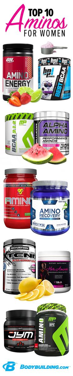 THE BEST SUPPLEMENT TO ENHANCE PERFORMANCE! Top 10 Aminos for Women! These building blocks of protein are key to your muscle repair and growth. They can also help keep your immune system running strong, improve your mood and concentration, and support healthy digestion. Bodybuilding.com