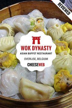 Family-friendly, Asian buffet restaurant, Wok Dynasty, in Overijse, near Brussels, Belgium.