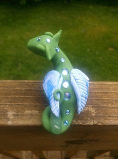 Ooak Dragon by ARAartisticcreations on Etsy, $30.00