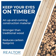 Industry observers say mass timber has the potential to replace masonry, concrete, and even steel as a go-to material for flooring, walls, or entire buildings. Construction Materials, Carbon Footprint, Magazine, Magazines