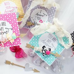 Tulle-Wrapped Kisses... - Homespun with Heart