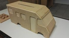Urne Camping-Car en bois