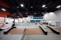 Image result for fancy interior skateboard parks