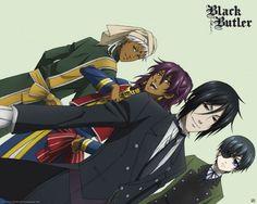 Poster Black Butler Soma and Agni