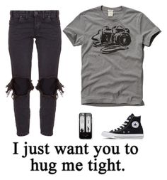 """""""i did it again.."""" by emopanda01 ❤ liked on Polyvore featuring OneTeaspoon, Abercrombie & Fitch, Samsung and Converse"""