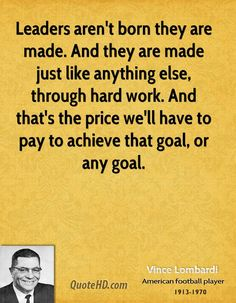 coach vince lombardi quotes | Vince Lombardi Work Quotes | QuoteHD