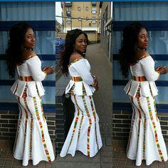 Latest Ankara Skirt And Blouse In Nigeria 2017