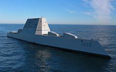 Rocketumblr | USS Zumwalt DDG 1000