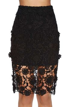 Lace Case Skirt