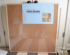 DIY Fabric Bulletin Board