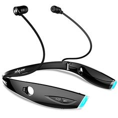 ZEALOT H1 Plus Wireless Headset Sports Bluetooth Headphones Neckband Earphones for Excesice Gym Jogging Black *** Be sure to check out this awesome product. (This is an affiliate link) #BluetoothHeadphones