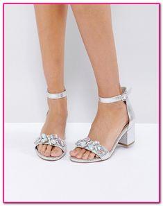 59172f41af5cf5 Silberne Sandalen Blockabsatz-Sandalen mit Blockabsatz sind die ideale  Wahl