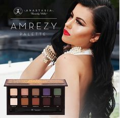 Pink Orchid Makeup | Beauty | Makeup | Fashion | Belleza | Maquillaje | Moda: NEW! Amrezy Eye Shadow Palette Collab With Anastasia Beverly H...