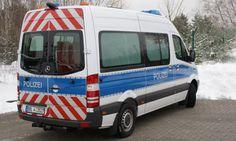 Mercedes-Benz Sprinter 313 (2012 ) - BAB Sicherungs- und Bearbeitungsfahrzeug (Bundesland Brandenburg) ☺