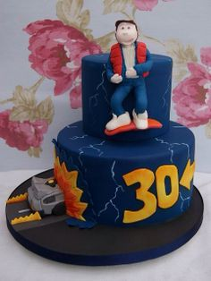 Back to the Future Cake | Flickr - Photo Sharing!