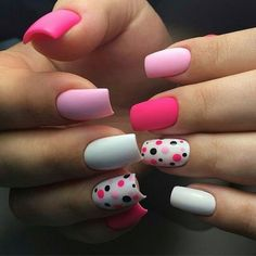 Beautiful Nail Art Designs & Ideas 2019 - style you 7 Pretty Nail Art, Beautiful Nail Art, Stylish Nails, Trendy Nails, Nagellack Design, Best Acrylic Nails, Super Nails, Nagel Gel, Creative Nails