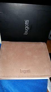 Tinedani's Testbox: Bugatti Echtledergeldbeutel