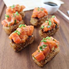 Ingredients – Spicy Tuna (makes app. 2 cups) 1 lb sushi-grade ahi ...