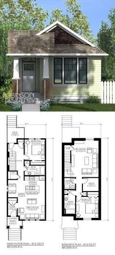 816 sq. ft, 1 bedroom, 1 bath.  ~ Great pin! For Oahu architectural design visit http://ownerbuiltdesign.com