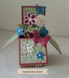 crea-scrap-card: Card in a box