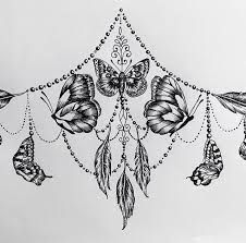 Image result for underboob sternum tattoo